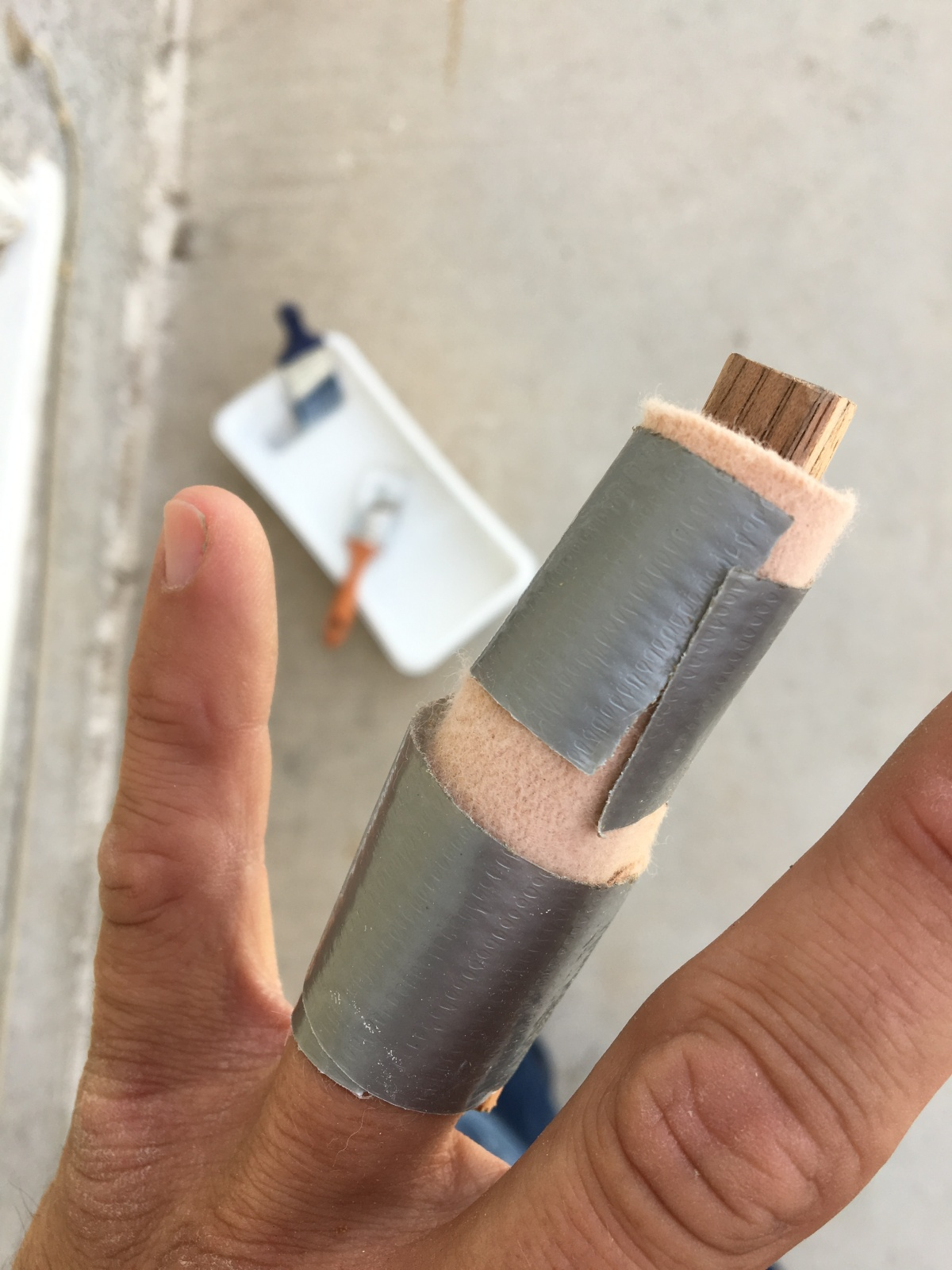 Even a broken finger can be inspiration – a chance to take the power out ofpain.